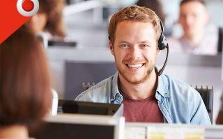 Онлайн консультант Vodafone – чат с оператором